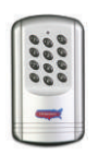 050500 (Plastic) LCR Wireless Keypad