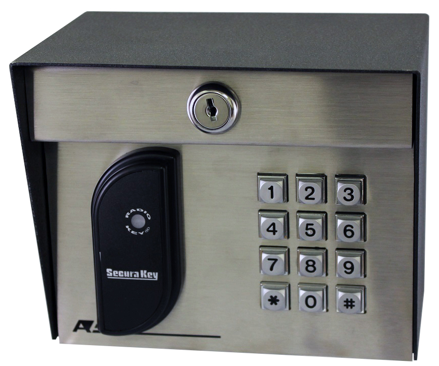 23-213kp SecuraKey Proximity Card Reader with Keypad (Post Mount)